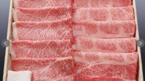 4位:松坂牛の肩ロース&モモすき焼き【通販お取り寄せ牛肉の人気おすすめランキング】